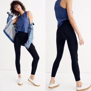 Madewell solid black leggings
